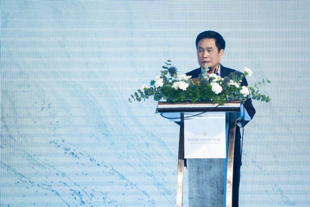 Ông Trịnh Đăng Thanh - PGĐ Sở Du lịch Quảng Ninh phát biểu