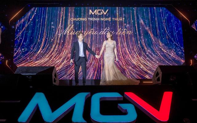 Ca sĩ Thu Phương và Lê Hiếu trình diễn trong đêm nhạc tri ân của MGV